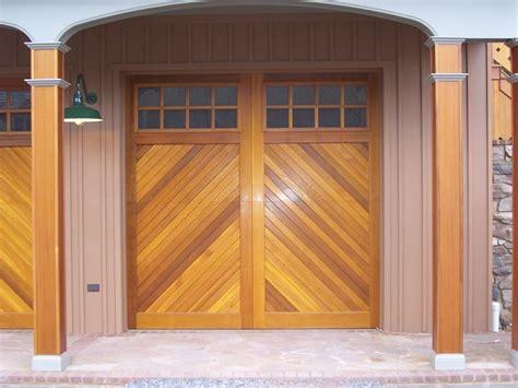 builders overhead door clingerman garage doors clingerman builders custom wood garage doors photo gallery 3
