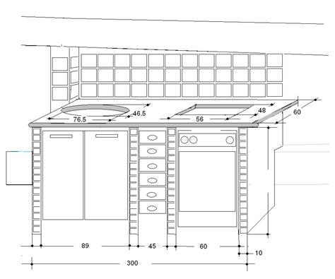 cucina in muratura misure mie soluzioni cucina in muratura