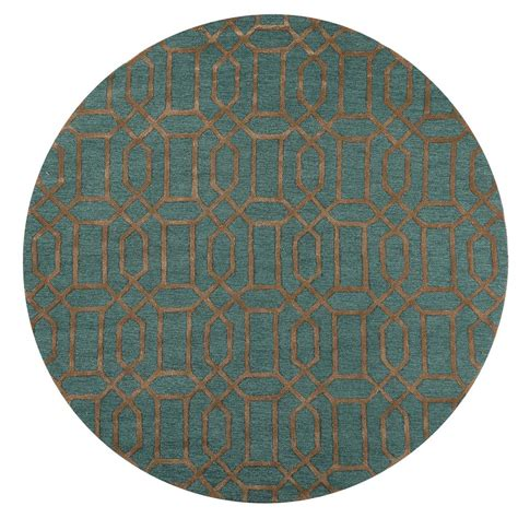 home decorators collection capital teal 8 ft x 8 ft