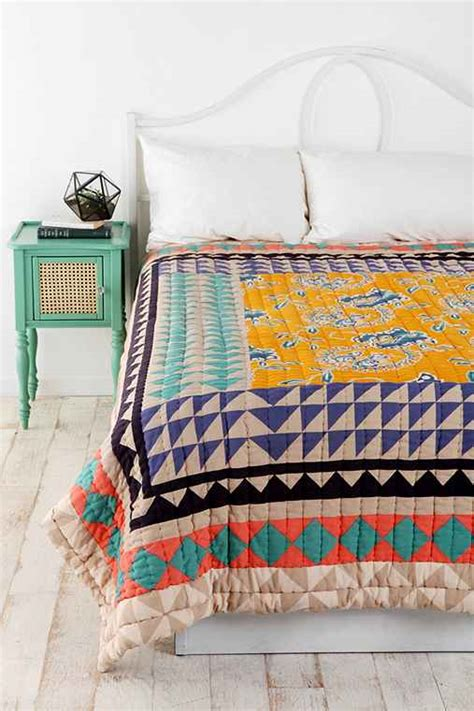 Quilt Outfitters by Magical Thinking Kantha Patchwork Quilt Outfitters