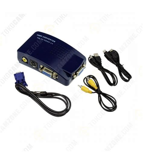 Converter Vga To Rca Pc To Tv by Pc To Tv Converter Box Vga To Rca S Adapter
