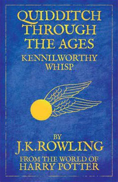quidditch through the ages j k rowling 9781408803028