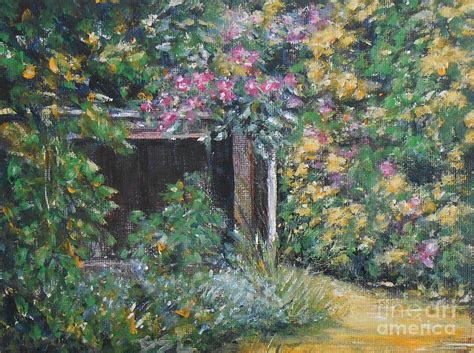 Cottage Garden Paintings by Cottage Garden 4 Painting By See