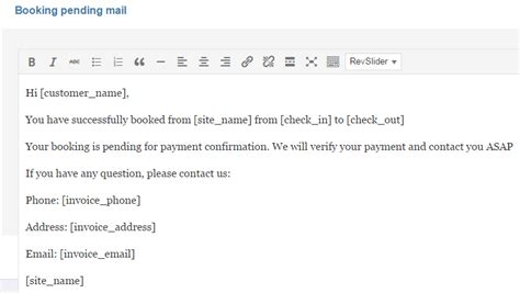 Contoh Email Booking Hotel Contoh O Hotel Email Template