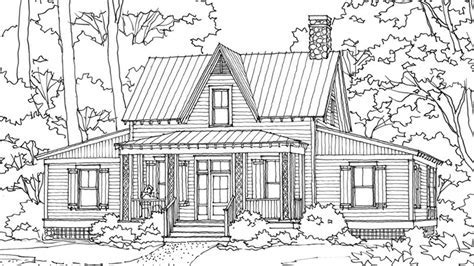 Milledgeville Terrace     Southern Living House Plans