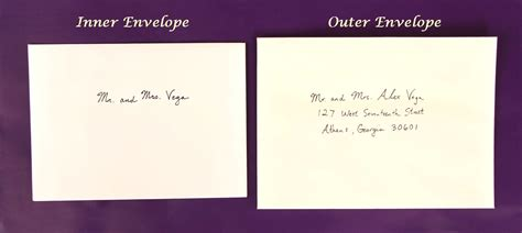 Wedding Invitation Card Addressing by How To Address Wedding Invitations