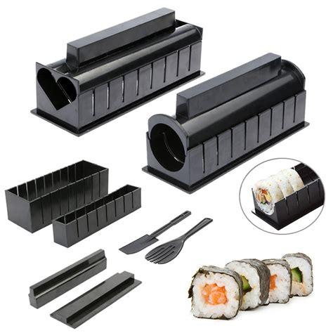 Sushi Roller Sushi Roller New 2 10pcs pack sushi kit new diy easy sushi maker