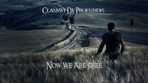 gladiator film score now we are free now we are free gladiator clamavi de profundis youtube