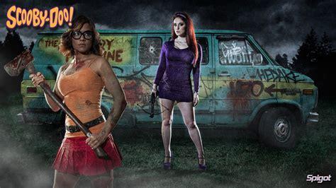 hot zombie girl wallpaper scooby doo vs the zombie apocalypse george spigot s blog