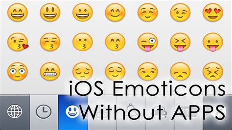 Emoticon Iphone installing iphone emoticons emoji without apps