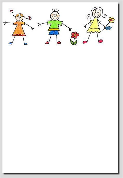 Adressaufkleber Zum Ausdrucken by Briefpapier Quot Lustige Kinder Quot Kreativzauber