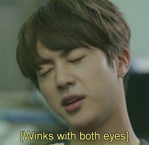 winking   eyes   sign  awesomeness bts