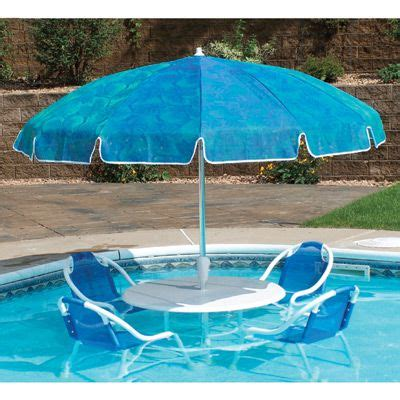 swimming pool table set with umbrella pool submersible patio furniture set with umbrella