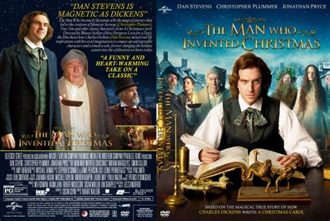 movies out right now the man who invented christmas by dan stevens the man who invented christmas dvd covers labels by covercity