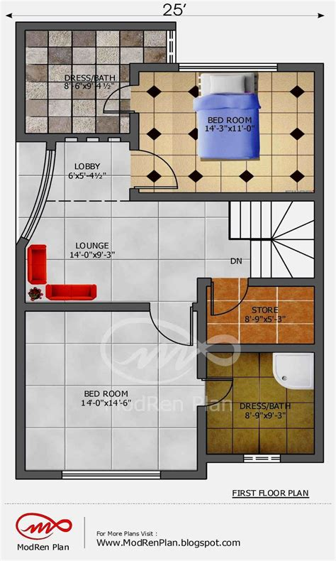 60 beautiful of 1200 to 1500 sq ft house plans gallery home 5 marla house plan 1200 sq ft 25x45 feet www modrenplan