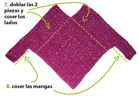 como tejer poncho con mangas a dos agujas poncho con mangas tejiendo per 250