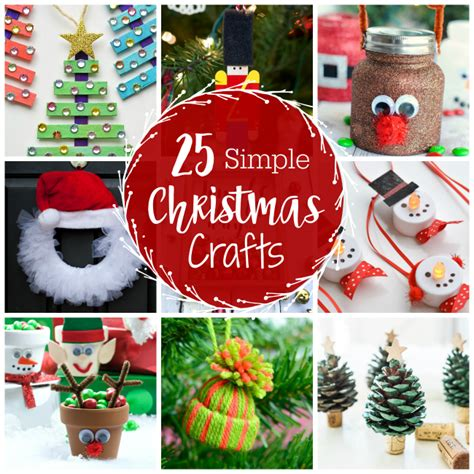 easy christmas crafts for schools 25 and simple crafts for everyone projects
