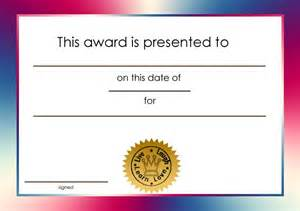 Free Award Certificate Templates For Students by Student Certificate Awards Printable Certificate Templates