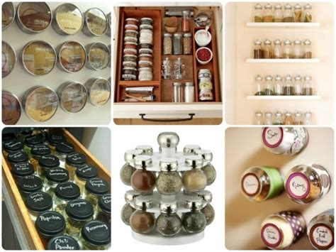 kitchen spice organization ideas diy projects for an organized home homes