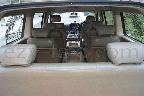 seater hyundai starex car rental singapore
