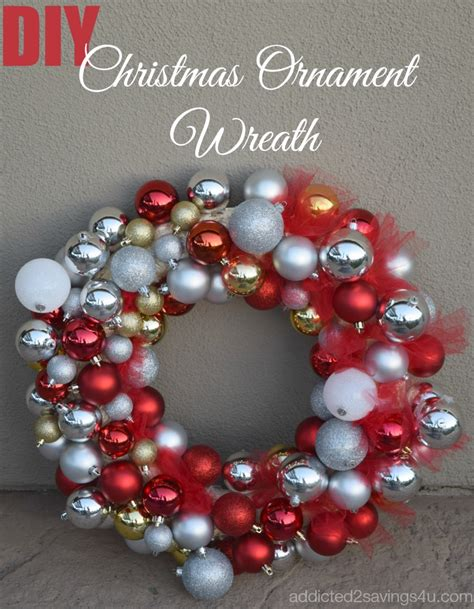 how to make a christmas ornament wreath tutorial a spark