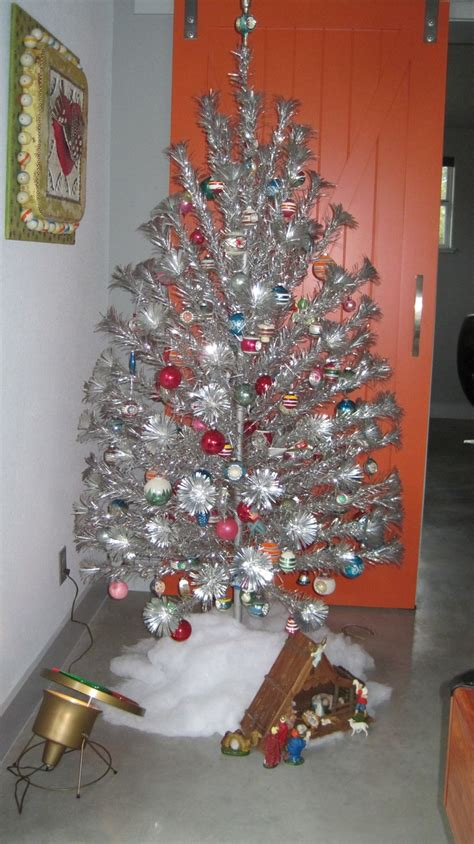 25 best images about vintage aluminum christmas trees on