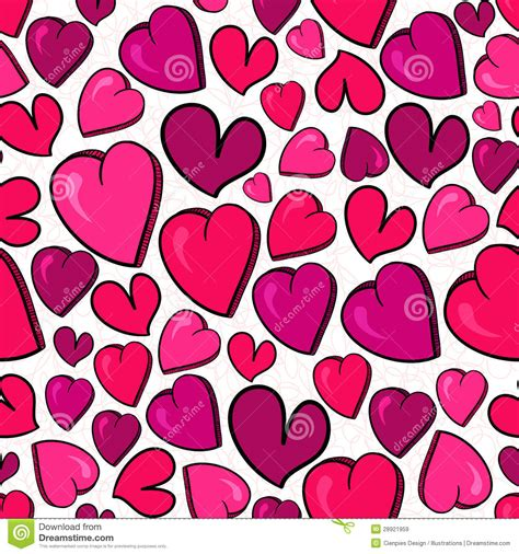 love heart pattern valentine love heart pattern royalty free stock images