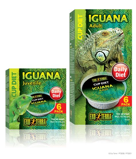 Vitamin Iguana exo terra cup diets iguana reptile food