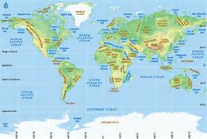 Physical Map Of The World by Pics Photos World Map Physical Printable 169