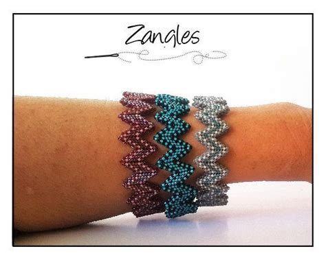 zig zag peyote pattern 17 best images about etsy shop for beading patterns on