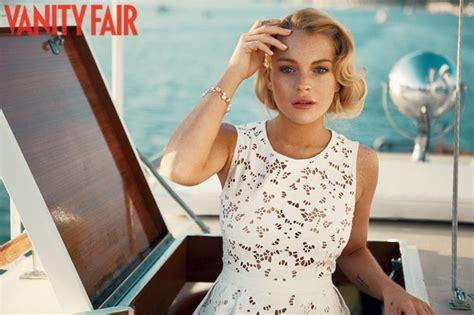 Lindsay Lohan Vanity Fair by Vanity Fair September 2010 Fashionbiology