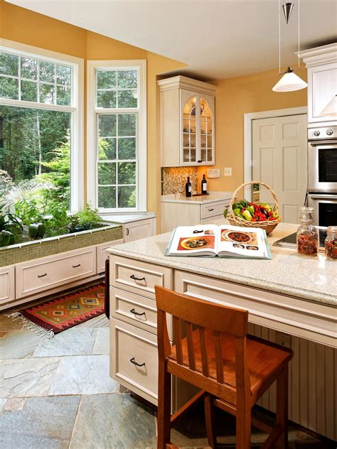 Kitchens With Open Shelving Ideas yellow country photos hgtv