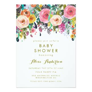 Baby Shower Invites Uk by Baby Shower Invitations Announcements Zazzle Uk