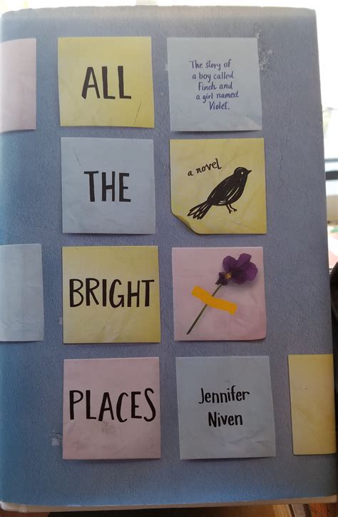 Niven All The Bright Places reads all the bright places by niven infatuated with simplicity