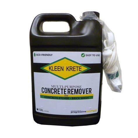 Dissolver Floor Remover - 1 gal multipurpose concrete remover dissolver and brick