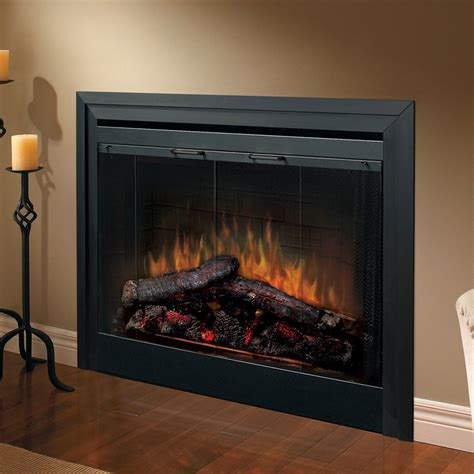 electric fireplace insert dimplex dimplex 33 in built in electric fireplace insert