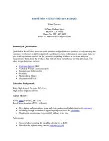 exles of strong cover letters cover letter sles for retail