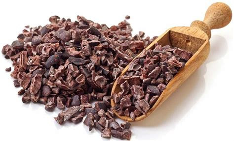 cocoa nibs organic raw superfoods rich in anti oxidants foods
