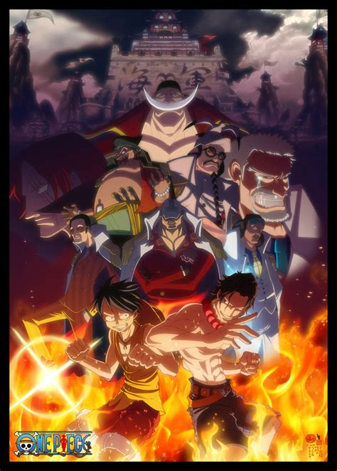 one arcs one marineford by limandao on deviantart