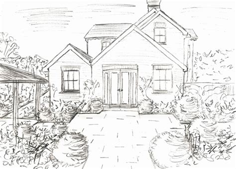 Drawing Of Home Design Elevation Drawings On