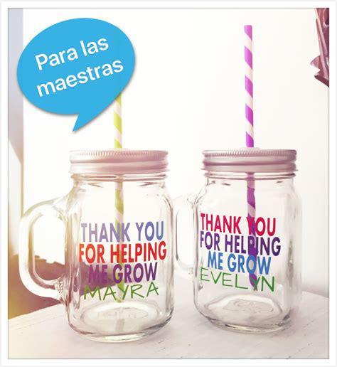frascos decorados regalo mason jars personalizados regalo navidad maestras