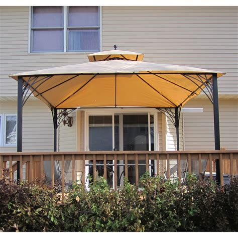 Menards Awnings by Menards Simona Gazebo Replacement Canopy 271 0697 Garden Winds