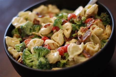 tortellini pasta salad what s for dinner tortellini bacon broccoli salad