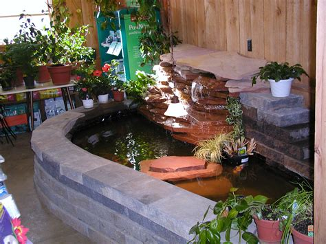 Indoor Water Garden Kits by Raised Backyard Ponds A Druble Wall