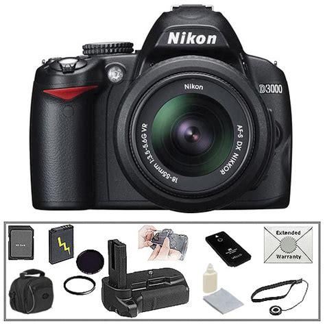 nikon d3000 slr nikon d3000 digital slr w 18 55mm lens deluxe kit