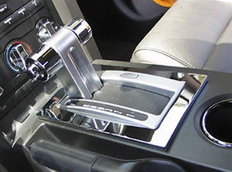 2006 mustang automatic shifter pirate mfg mu0012sc 2005 09 ford mustang chrome billet