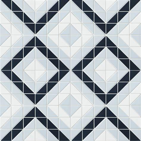 blue pattern wall tiles blue mountain square 2 triangle geometric pattern wall