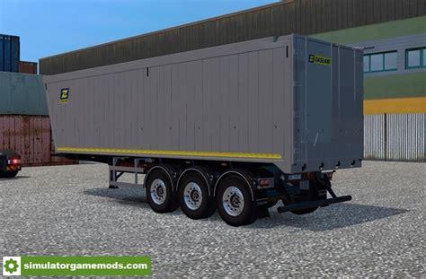 ets  zaslaw tipper trailer   simulator