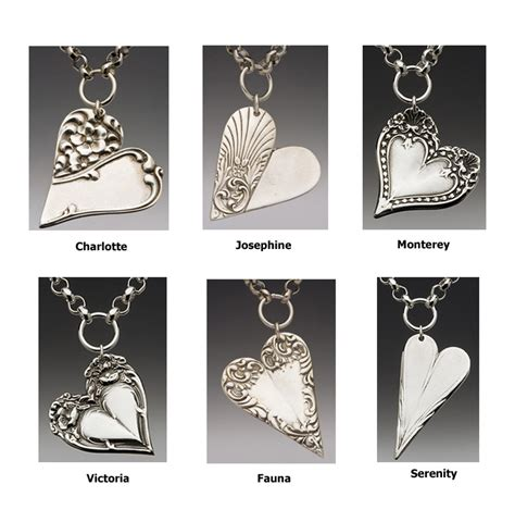 how to make jewelry from silverware spoon jewelry spoon charm necklace