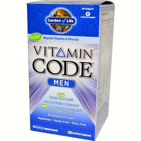 Garden Of Vitamin Code For vitamin code by garden of 240 caps white dove